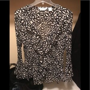 Allison Taylor women's blouse size xl